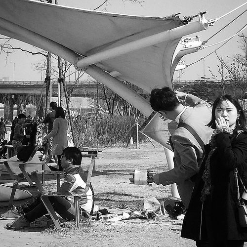 Seoul_streetphotography Kr_streetphotography Streetphotography Bnwphotography Bnwkorea Bnwseoul Bnw_streetphotography Hangang Park Seoul Spring Seoulspring2017 Southkorea