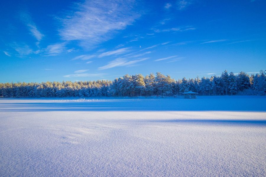 Cold And Blue Space Cold Temperature Winter Nature Masterpiece Master_shots Sweden Sky Colourful Landscape #Nature #photography Blue Landscape