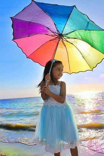 My little sister 😚 Sister Mysister MyLittleSister Mybaby Природа Sea Beauty In Nature