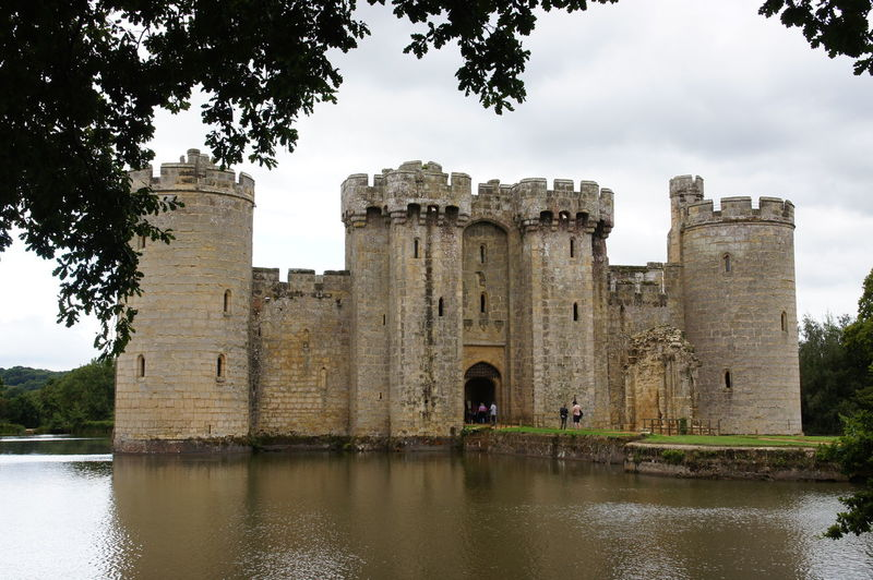 Bodiam Castle Bodiam Castle Architecture History Built Structure Sky Ancient Tree Nature Travel Travel Destinations Water Plant Old Ruin Tourism Building Exterior Day Reflection Old Ancient Civilization Arch Outdoors No People Ruined Archaeology Castle