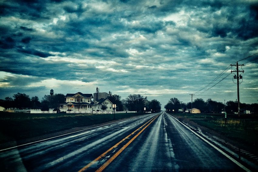 http://www.nebraskaprairierosebb.com On The Road After The Rain Rural Scenes