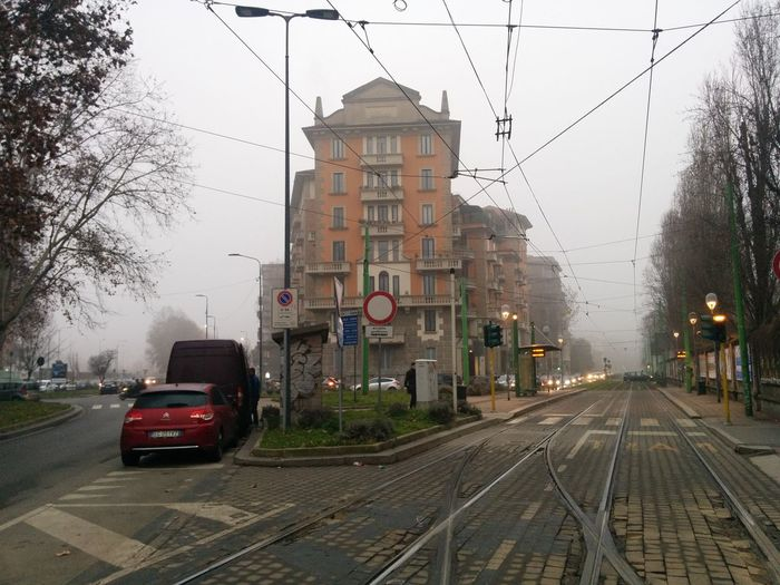 Nexus5photography Nexus5 Nebbia Fog Foggy Foggy Morning Nebbia A Milano Binari Tram