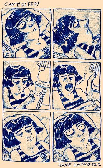 #CantSleep