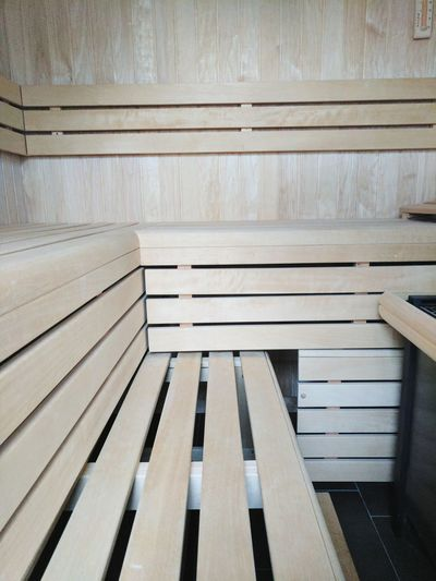 Wood - Material No People Indoors  Architecture Built Structure Day Close-up Sauna Sauna Time  Sauna Time  Sauna Room Sauna, Finland Sauna Pleasures Sauna Wood