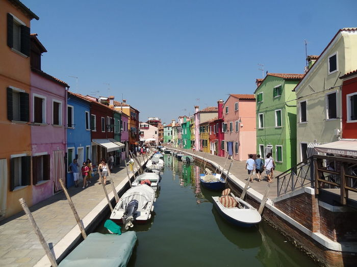 Burano, Italy Burano, Venice City Cityscape Colors Italia Architecture Building Building Exterior Built Structure Burano Burano Island Canal City Color Colorful Day Italy Italy❤️ Nautical Vessel Outdoors Residential District Sky Sunlight Water
