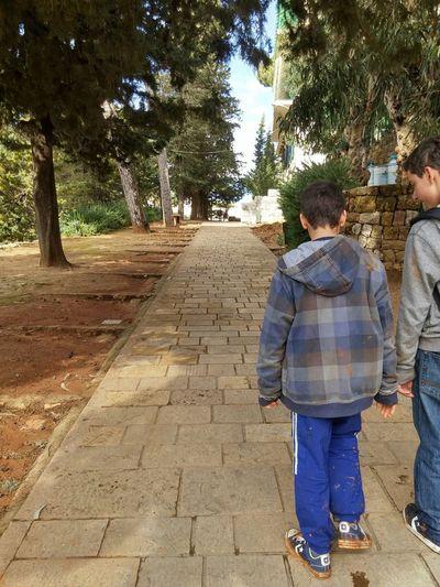 Everyday Joy walking with best friends