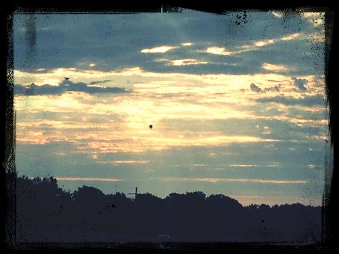 morning sky Hot Air Balloon Check This Out Cloud 9