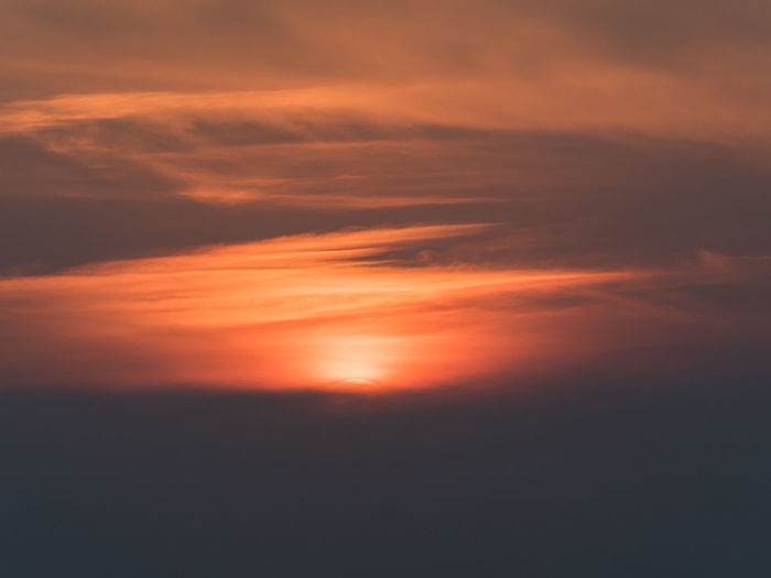 Scenic View Of Sunset In Sky