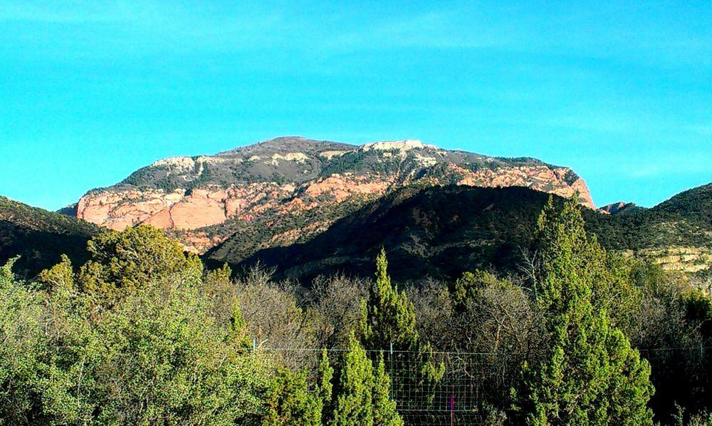 Mountain View Mountain Mountain Range Western America Travel Travel Photography