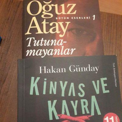 gunden kalan iki adet masallahi olan kitap.. Tutunamayankar Oguztay ve Hakangünday Kinyasvekayra