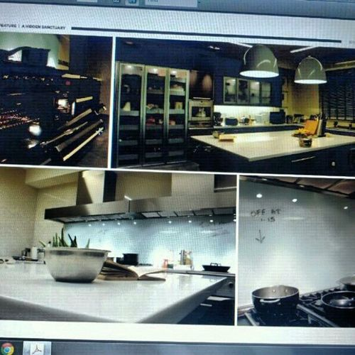 This kitchen featured in ButraHomeConcepts blew me away! Anyone know whose house? Iwantacloserlook