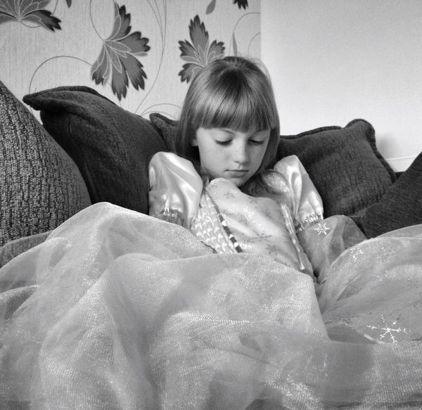 My Princess My Beautiful Daughter Little Princess Black & White Home Sweet Home IPSMood