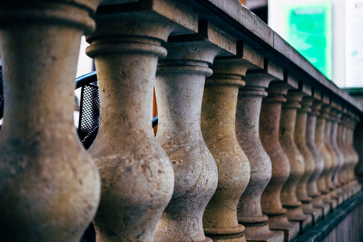 Close-Up View Of Balusters