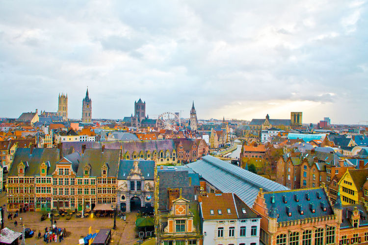 Gent from above