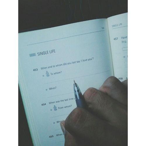 Lupa nk buat revision. Susah bak hang jawab soalan nihh. Ahha TheQuestionBook