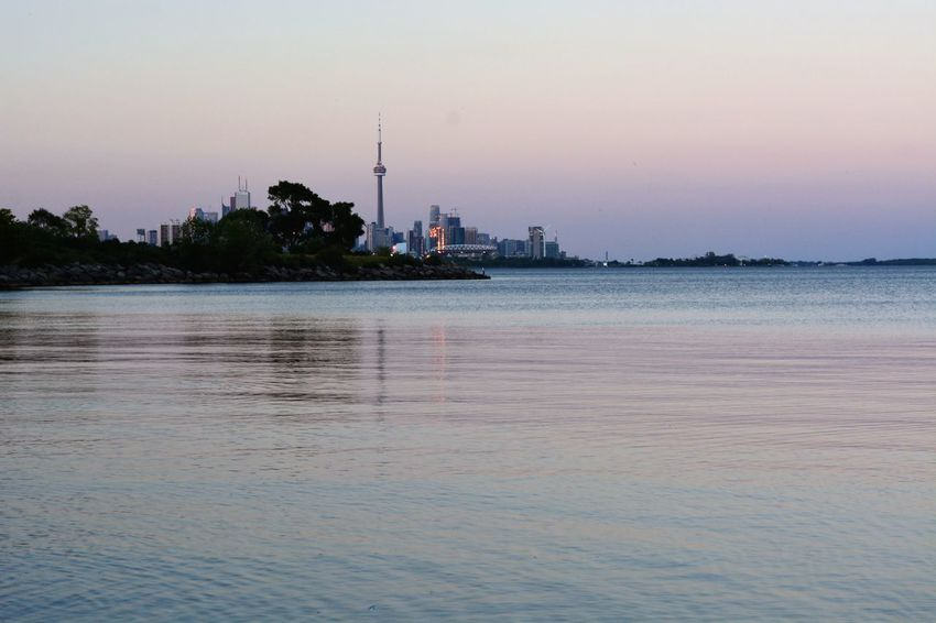 Clear Sky Nature No People Ontariolake Outdoors Sunset Toronto Canada Water