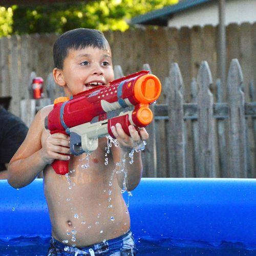 AshtonRyan Swimming Pool Water Drops Childhood Captured Moments Childhoodunplugged Water Play Nikon D3200