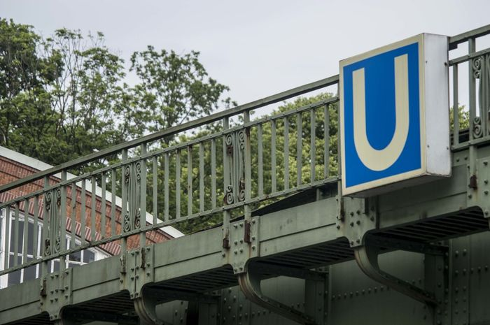 Bridge Hamburg Rusty Subway Train U Ubahn Urban