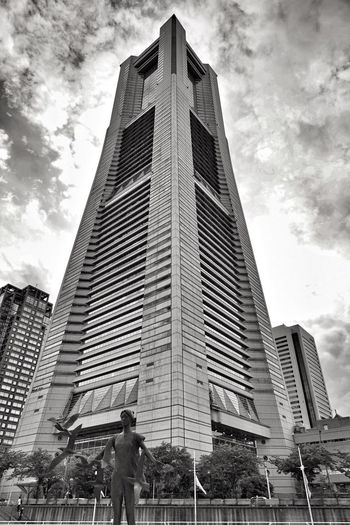 Building Exterior Architecture Built Structure Skyscraper Modern Cloud - Sky Sky City Real People Low Angle View City Life Outdoors Day Lifestyles Men Travel Destinations One Person Women Adult People Japan Tim Wong Sony