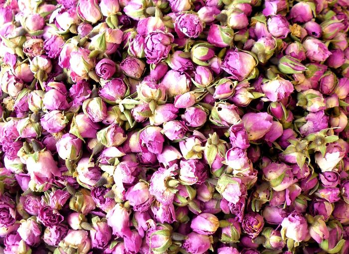 Moroccan roses Morrocan Market Full Frame Flower Backgrounds Abundance Purple Freshness No People Beauty In Nature Fragility Nature Large Group Of Objects Pink Color Market Flower Head Flower Market Close-up