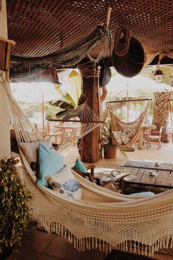 Bohemian vibes in Ibiza Travel Destinations Travel Roadtrip Outdoors No People Bohemian Hammock Vibes Ibiza SPAIN Chill