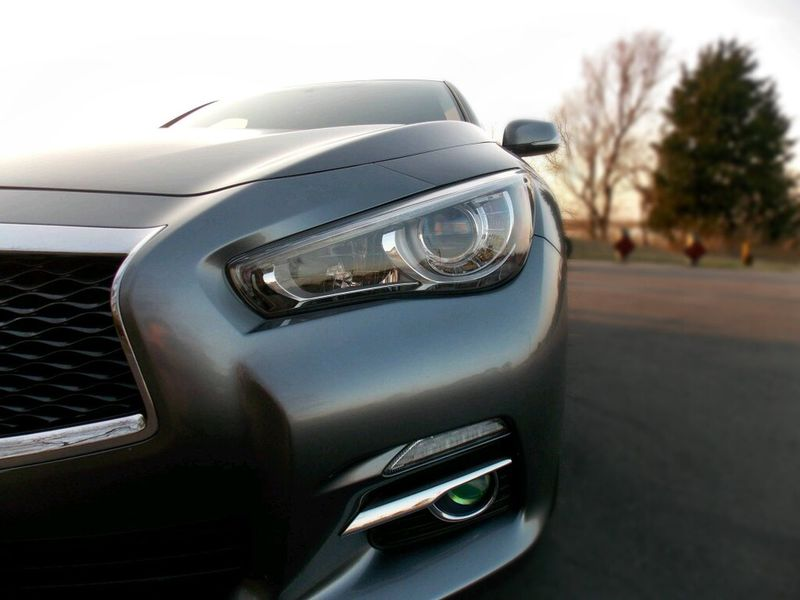 eye of the beholder Infiniti Q50 Bokeh Retro Styled Old-fashioned No People
