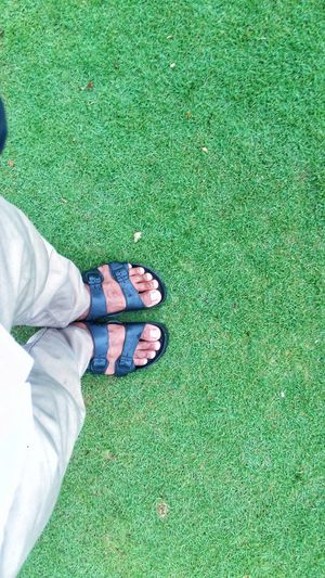 nature Grass Low Section Human Leg One Person High Angle View Shoe first eyeem photo