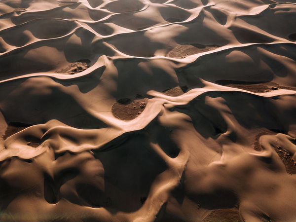 Full Frame Pattern Backgrounds No People Abstract Close-up Motion Nature Textured  Black Color Water Indoors  Day High Angle View Smoke - Physical Structure Environment Design Heat - Temperature Tranquility Desert Dune Sand
