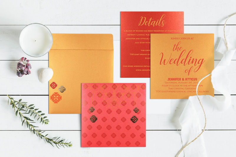 Go To Store: Https://www.indianweddingcards.com/card-detail/CW-1521 HinduWeddingCards HinduWeddingInvitations Hinduceremony HinduInvitations Onlineweddingcards