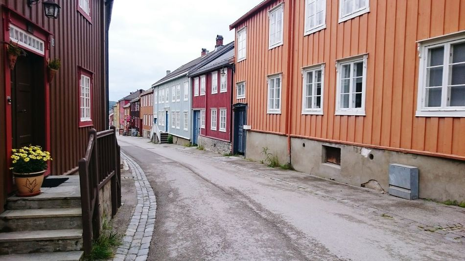 Norway Røros Old Town Street Photography