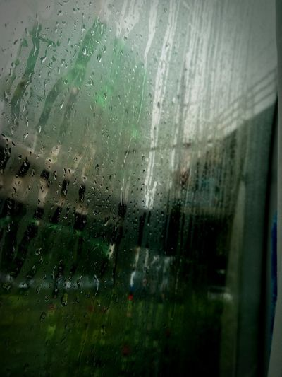 Window Rain Glass - Material Wet Drop Backgrounds Rainy Season RainDrop Indoors  Water No People Full Frame Close-up Frosted Glass Day Architecture Light And Shadow Eyeem Philippines City Living Monsoonshowers