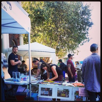 sat morning at Newtown markets Thisisoz Family @binkbaulch @thatcub