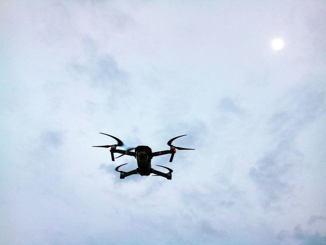 Air Vehicle Cloud - Sky Day Drone  Drone Moments Drone Photography Dronephotography Droneshot Flying Low Angle View Mid-air Nature No People Outdoors Sky Flying High