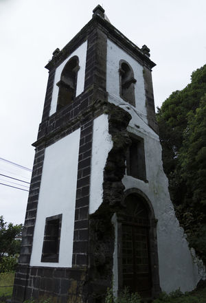Azores EyeEmNewHere Portugal São Jorge Architecture Building Exterior Built Structure Day History Low Angle View No People Outdoors Place Of Worship Religion Sao Jorge Island Sky Spirituality Tree
