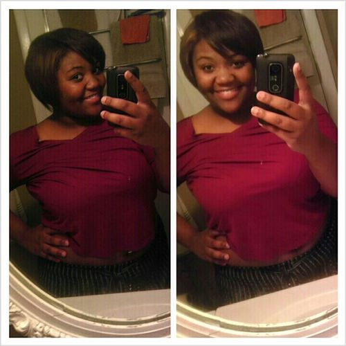 No perm for 6 months , and this is progress (: #Natural .