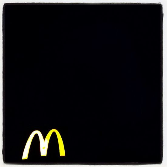 M Instagood Instagramhub Night Webstagram IPhoneography Goldenarches Montréal Fastfood Creative Bigmäc Mcdonalds Igcanada Mcd Mickeyd Arches M Quebec Advertising Sign Iphoneonly Corporate Instamood