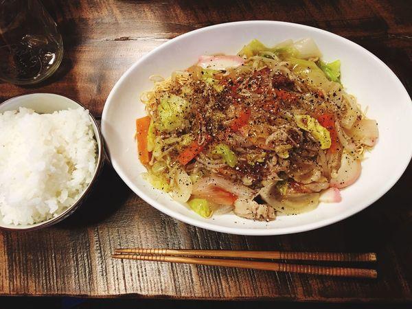 3月24日(木) 夕食 Dinner 皿うどん