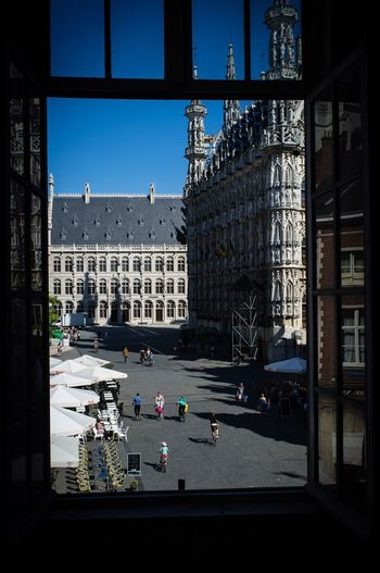 Beautiful Sunlight EyeEm Best Edits Kris Demey Photography Leuven, Belgium Leuven EyeEm Best Shots Beauty In Ordinary Things Architectural Detail Rows Of Things Walking Around The City  Showcase July