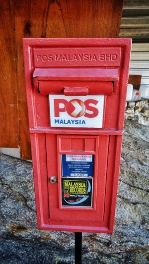Postbox at the