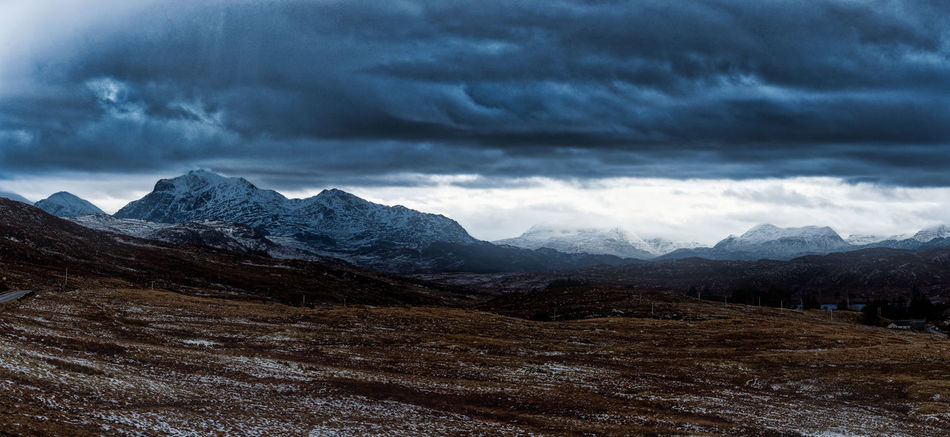 Photo Merge Photography Stormy Sky's Day Fields Landscape_photography Mountains No People Sky Snow Capped Mountains Stormy Sky Over Wintry Mountains Mountain Nature Scenics Beauty In Nature Weather Landscape Snow Tranquility Mountain Range Cloud - Sky Tranquil Scene Cold Temperature Outdoors Range Winter