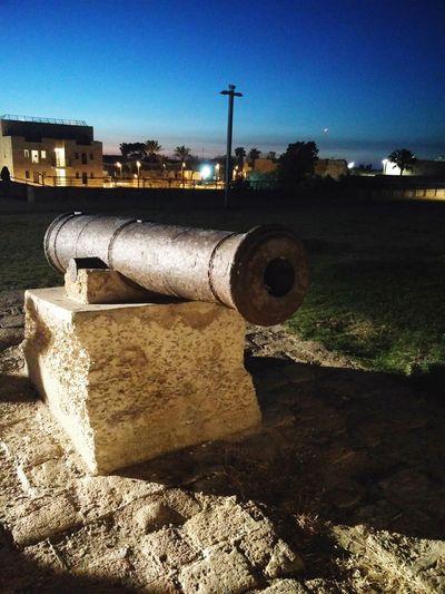 احد مدافع سور عكا the wall of acre Acre Palestine Napoleon Wars