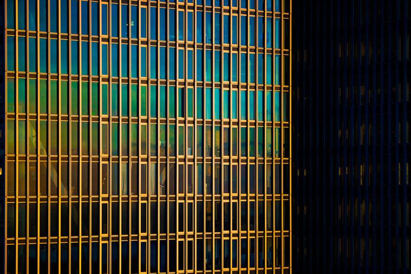 DeRotterdam shining in morning light Architecture Rotterdam Building Day Derotterdam Metal Pattern Sun Light Sunrise Windows The Architect - 2018 EyeEm Awards