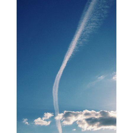 Highway to heaven Summerinberlin Sky Clouds Blue Nice View First Eyeem Photo Sunnyday