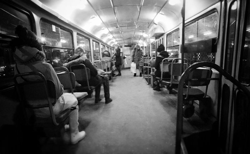 Travel Public Transportation Urban City Life City Tramway Life In City Tram Transportation