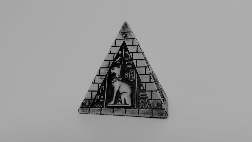 No People Indoors  Blackandwhite Photography Black And White Blackandwhite Pyramid Egypt Acient Bastet Statue Things ı Like Getty X EyeEm Gettyimages Eyeem Collection At Getty Images