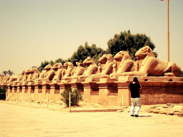 What Makes You Strong? Karnak Temple Egypt Traveling