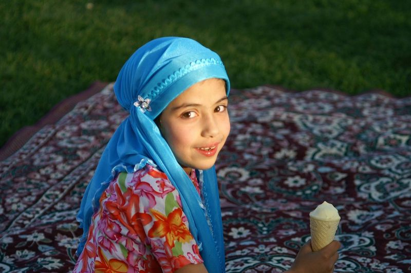 his look sweet and innocent International Women's Day 2019 Esfahan Iran One Person Child Day Looking At Camera Real People Women Blue Innocence Outdoors