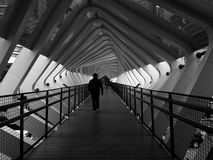 Men Full Length Bridge - Man Made Structure Silhouette Railing Architecture Built Structure Footbridge Diminishing Perspective Pathway The Way Forward vanishing point Covered Bridge Arch Bridge Passageway Bridge Narrow Walkway The Art Of Street Photography The Mobile Photographer - 2019 EyeEm Awards The Street Photographer - 2019 EyeEm Awards