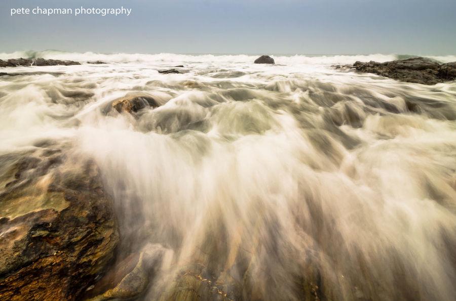Porthleven Long Exposure Tide