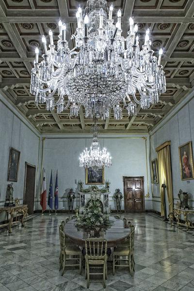 The Palace at Valletta City Malta Valletta European Capital Of Culture 2018 Valletta,Malta Grand Interior Palace Palatial State Room Street Photography Valletta
